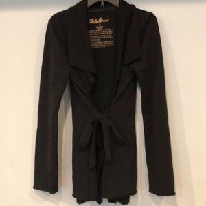 Lucky Brand cardigan with tie attached